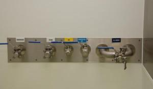 Utilities panel in the Bioprocessing Unit